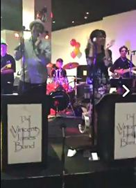 Delaware Valley's top dance and entertainment band, the Vincent James Band.