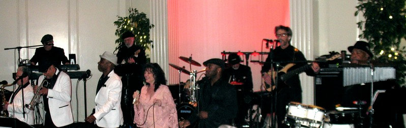 The Vincent James Band performs at the William Penn Inn.